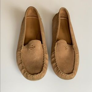 Coach Suede Loafers - Tan